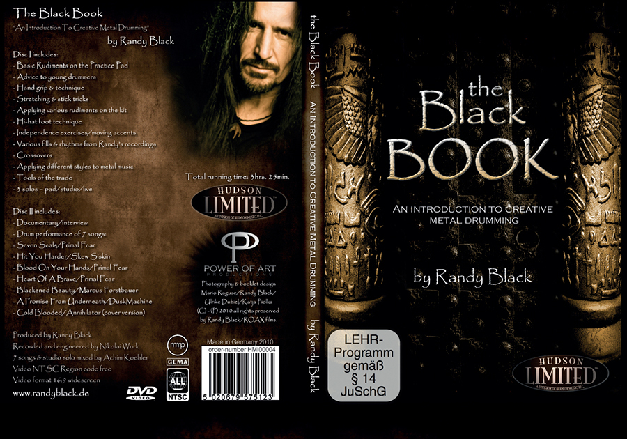 7 - Randy Black - The Black Book DVD - 2010